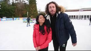 Dancing on ice Ryan Sidebottom. 14th December 2018