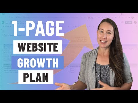 My Plan to Grow a 1-Page Income Generating Website