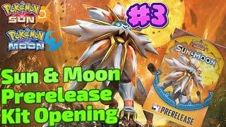 Sun and Moon Prerelease kit #3! Pokemon TCG opening