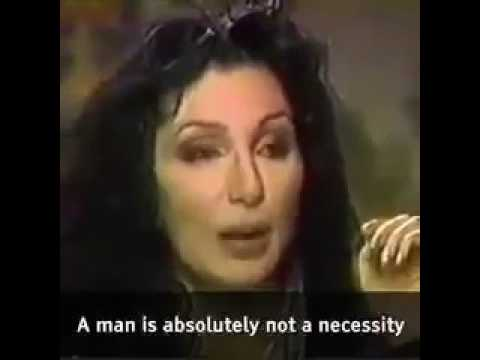 A man is not a necessity