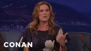 Ana Gasteyer On The Driver Who Made Her Miss Her Flight  - CONAN on TBS