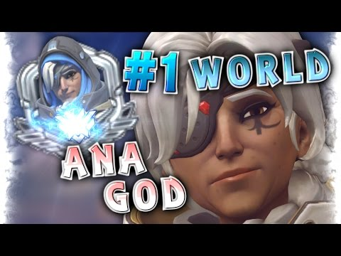 "16 Years Old ANA GOD Player [#1 World Ana] ""Gale Adelade"" Moments Montage 