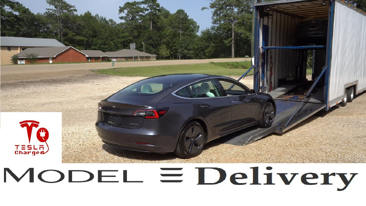 Tesla Model 3 - Delivery - Charging Options - YouTube