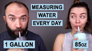 "We Drank the ""Proper"" Amount of Water Every Day for a Month, Here's What Happened"