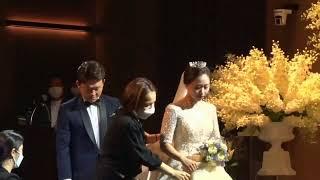 경민웨딩컨벤션 그레이스홀 6월12일 김재목 김소리 예식…