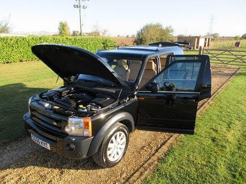 2006 Land Rover Discovery 3 TDV6 SE Black