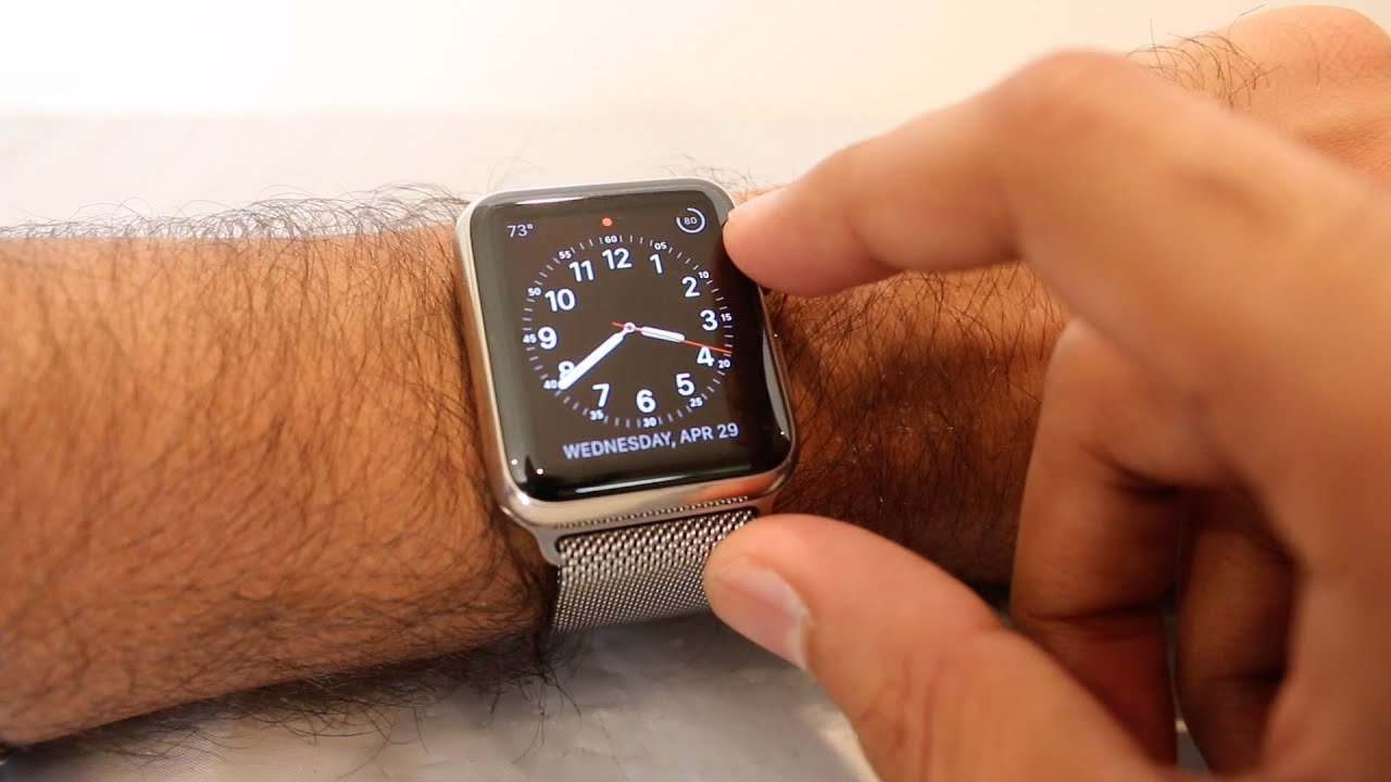 Apple Watch 42mm Stainless Steel Milanese Loop Review Youtube