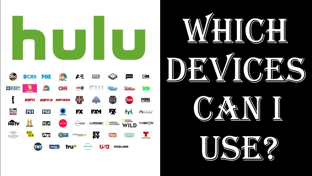 Hulu with Live TV - What Streaming Devices Can I Use - Roku, Amazon Fire  TV, Apple TV, iOS, Android