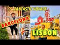 Barcelona and Lisbon (Lisboa): Things to Do, See, and Eat   Travel Two Countries for Price of One