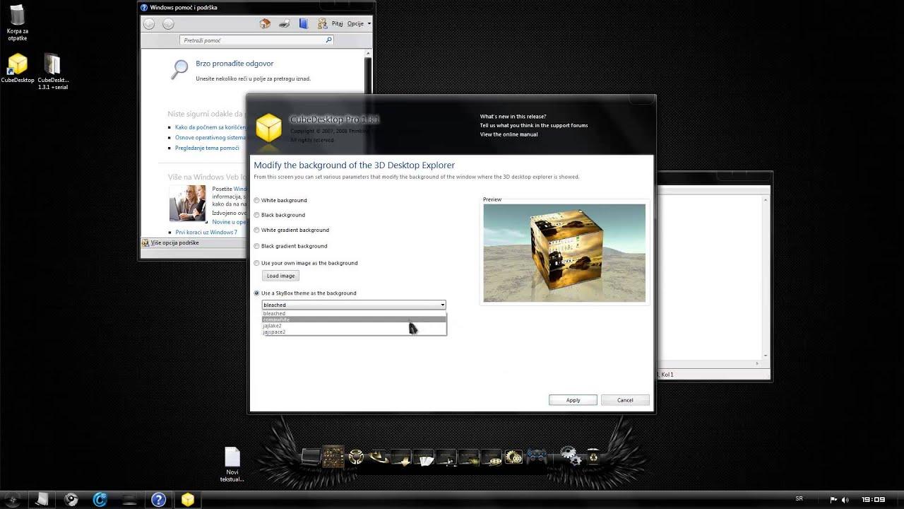 cube desktop 1 3 1key