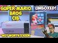 Nintendo Super Mario Bros CIB Not Worth 100k Unboxing mp3