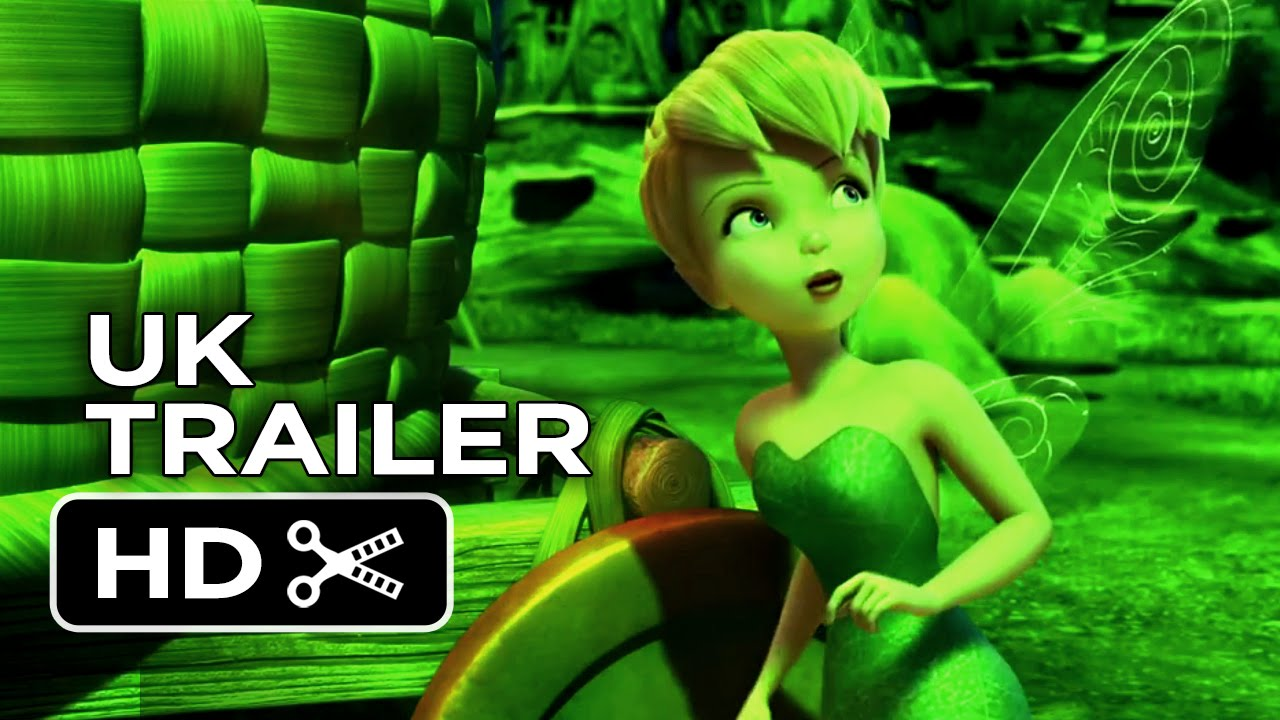 Tinkerbell And The Legend Of The Neverbeast Official Uk Trailer 1 2014 Disney Movie Hd Youtube