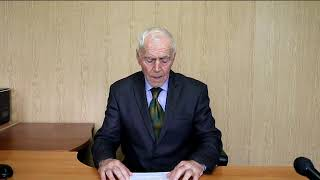 Председатель Совета ветеранов войны и труда Зияутдин Кахруманов о терроризме