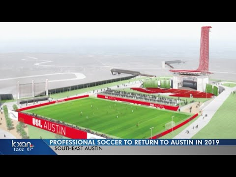 Professional soccer returns to Austin in 2019