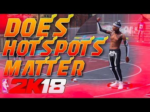 DOES HOTSPOTS MAKE YOU MAKE MORE JUMPSHOTS ON NBA 2K18