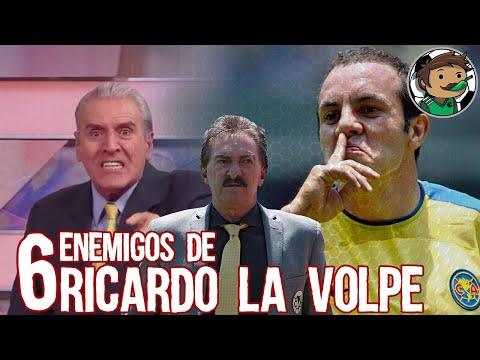 6 Enemigos de Ricardo La Volpe en su Carrera, Boser