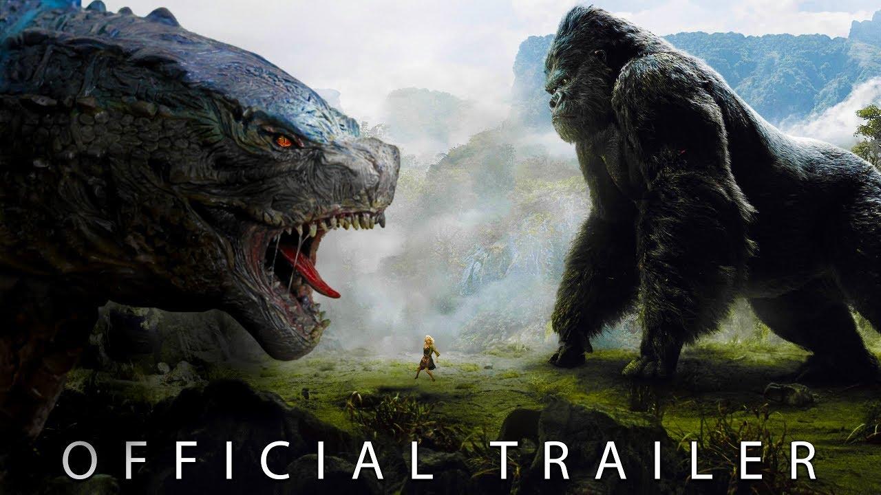 Godzilla vs Kong   Tráiler oficial