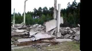 Обрушение строения Кличев