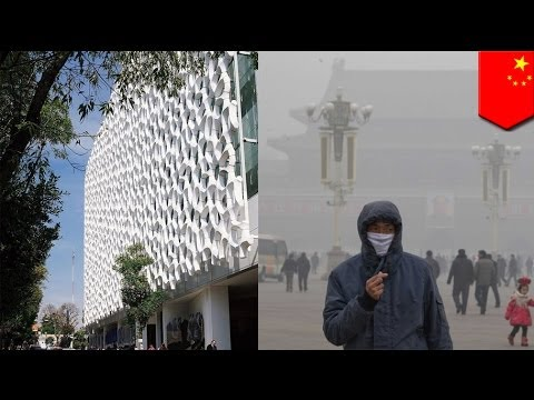 Smog-eating buildings the solution to Beijing's smog?
