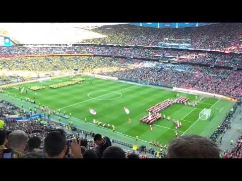 2013 UEFA Champions league final opening ceremony