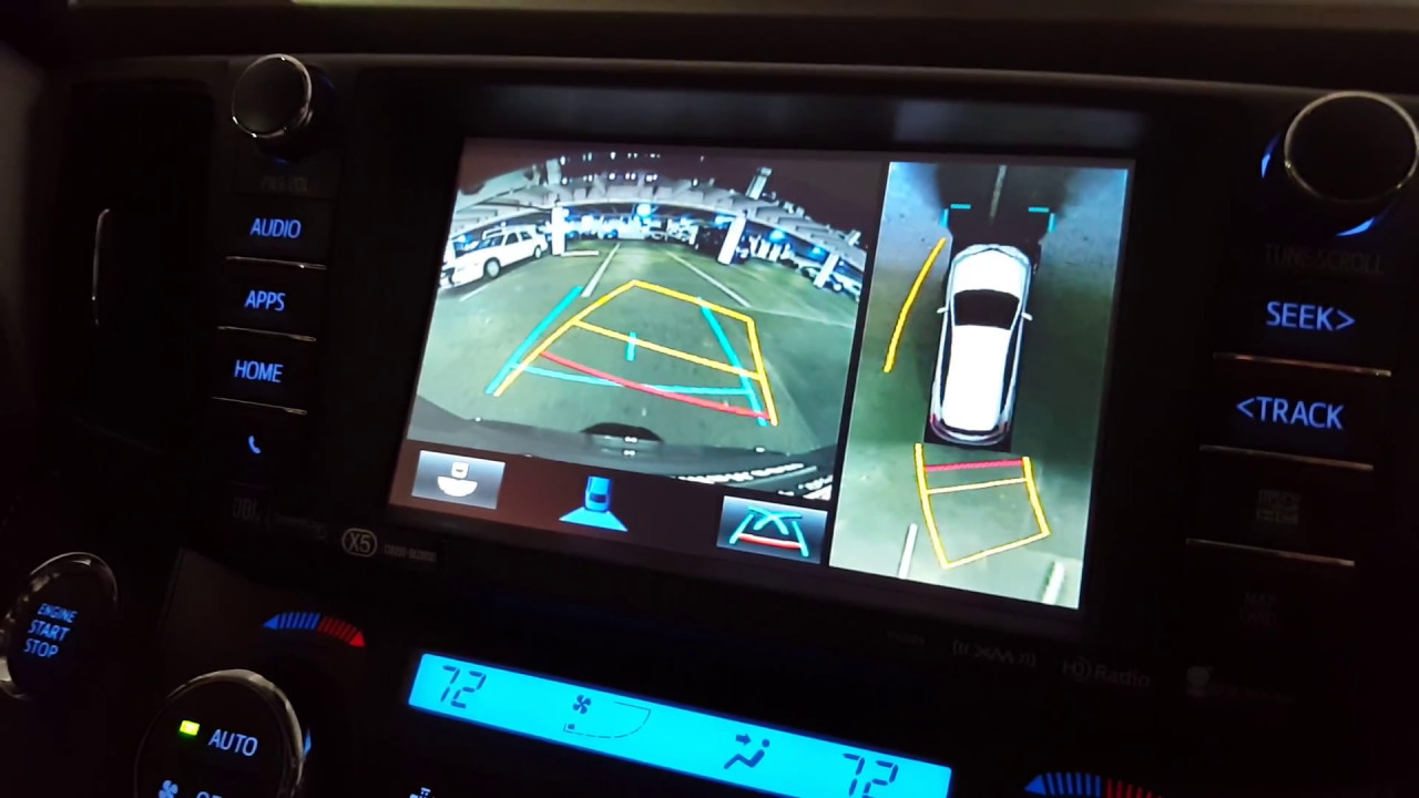 Birds Eye View And Backup Camera In A 2017 Toyota Rav4 Youtube