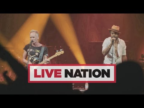 Sting & Shaggy's 44/876 Tour Is Coming To The UK In May!   Live Nation UK Mp3