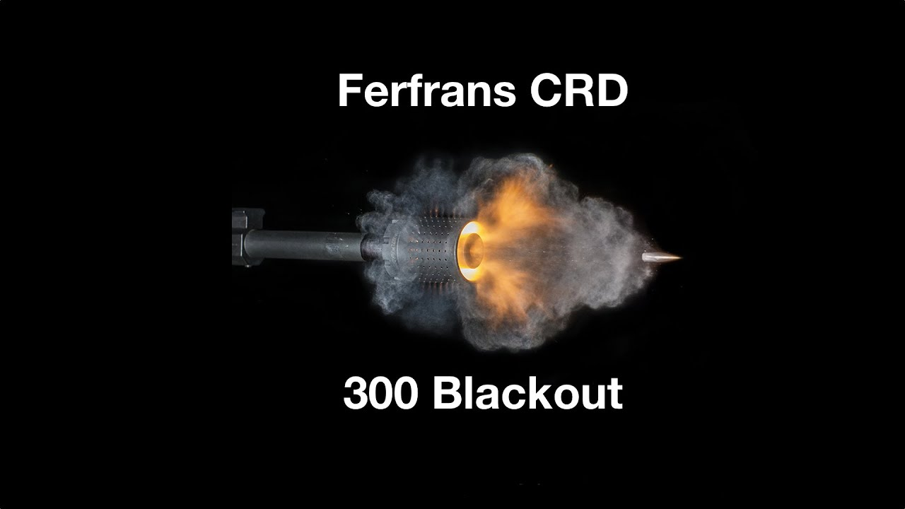 Ferfrans CQB CRD For 300 Blackout Unbox