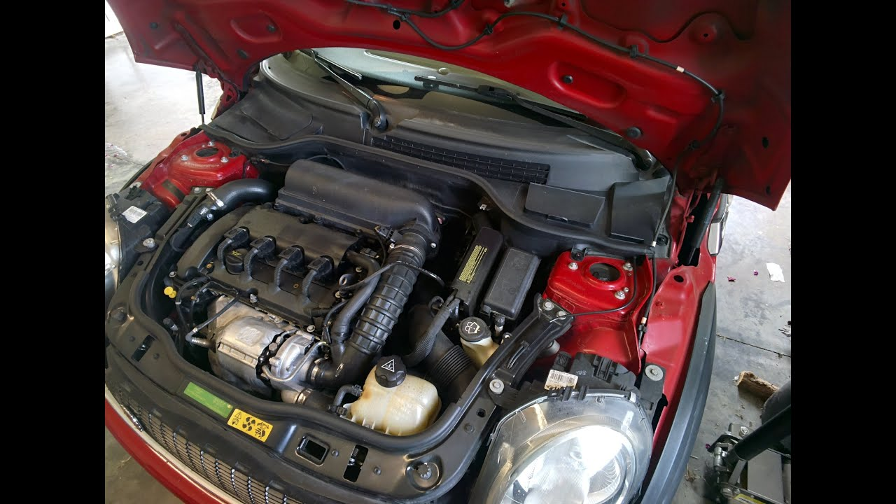2008 mini cooper s - vacuum pump replacement