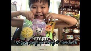 Gambar cover THÔNG BÁO KẾT QUẢ MINIGAME MỪNG 40 SUBSCRIBERS l GTN KID
