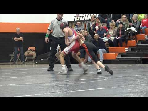 Nathan vs Slinger Middle School – Longfellow Wrestling Match