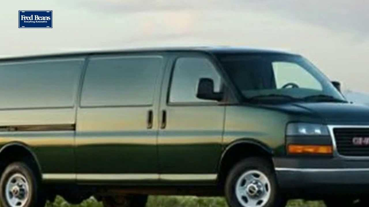 New 2014 GMC Savana Cargo Van