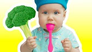 Yes Yes Vegetables Song   동요와 아이 노래   어린이 교육