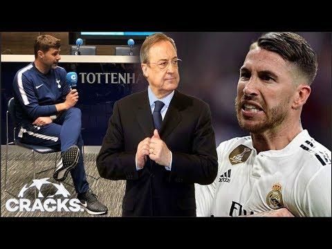"""Pochettino SE QUEJA de Florentino; el MADRID responde   """"RAMOS QUIERE IRSE""""   UNITED va por DE LIGT"""