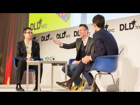 How Bots Can Make Life Better (Dennis Mortensen, Joshua Browder, Nicholas Thompson) | DLDnyc 16