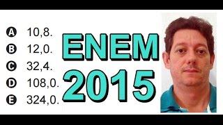 Enem 2015 - Matemática - Área - (Questão 148 - Prova Cinza)