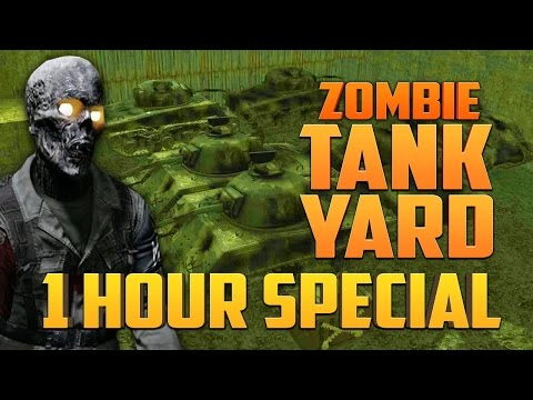 ZOMBIE TANK YARD - 1 HOUR SPECIAL ★ Call of Duty Zombies Mod (Zombie Games)