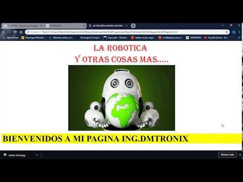 Tutorial Diseño de Pagina Web HTML- TEXTO EN MOVIMIENTO thumbnail