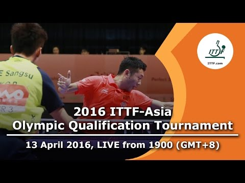 2016 ITTF-Asia Olympic Qualification Tournament - Day 1 Evening