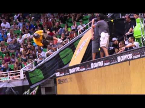 Dew Tour - Shaun White, PLG, Bucky Lasek - Skate Vert Finals Highlights - Salt Lake City 2010