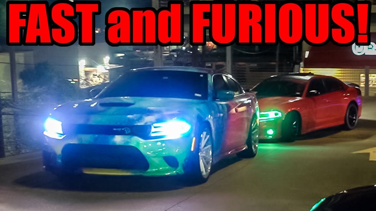 FAST and FURIOUS Style Car Meet Gets WILD! (Burnouts, Slides, Revs, and MORE!)