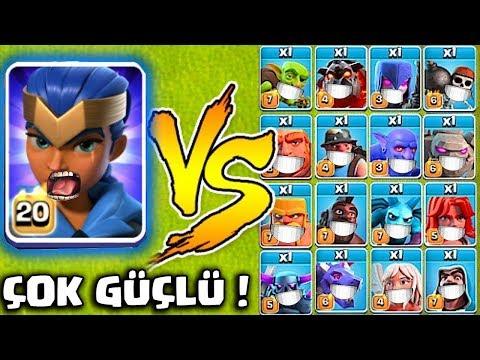 YENİ HERO Vs TÜM ASKERLER !! (Kraliyet Şampiyonu)  | Clash Of Clans