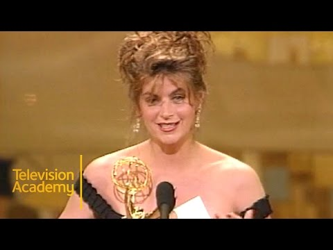 Kirstie Alley Wins Outstanding Lead Actress in a Comedy Series For Cheers  Emmy Archive 1991