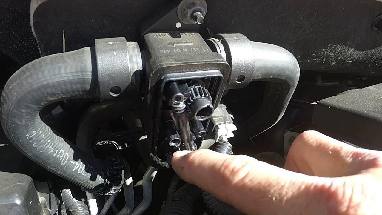 2010 Nissan Armada Rear Heat Control Valve  Cheap Fix  YouTube