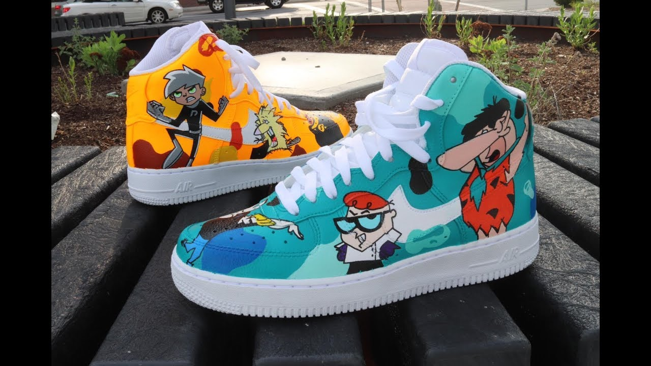 Custom Cartoon Charater Af1 S Youtube