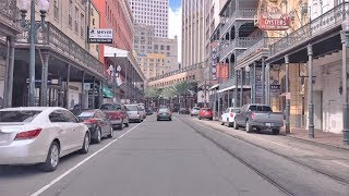 Driving Downtown - Royal Street - New Orleans USA
