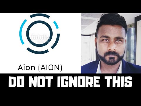 IS AION A 100X COIN? WHAT IS AION? AION INTER OPERATIBILITY BLOCKCHAIN