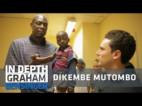 Dikembe Mutombo: A tour of my hospital in the Congo