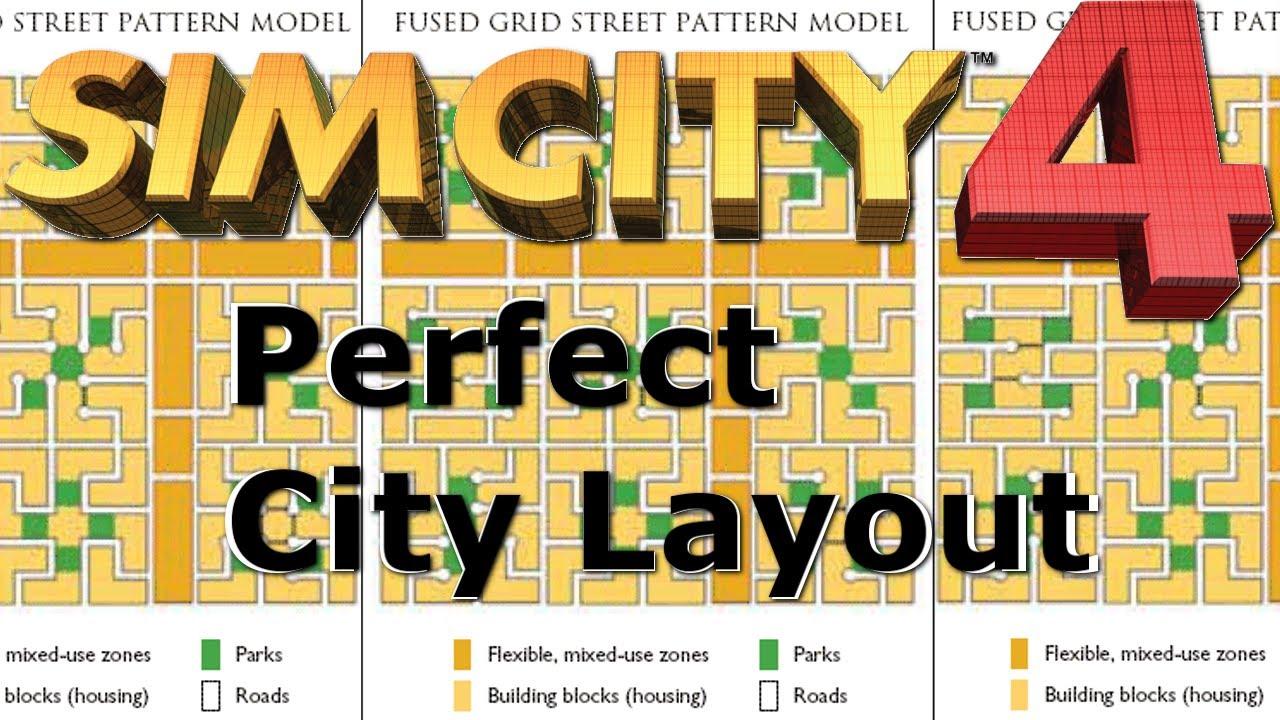 Perfect city layout simcity youtube