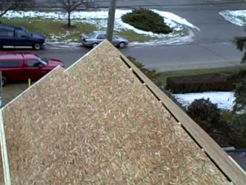 Roof sheathing top youtube for What to use for roof sheathing