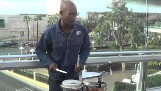 Indian Music Tone By Drummer In Las Vegas, US Near Fashion Show Mall